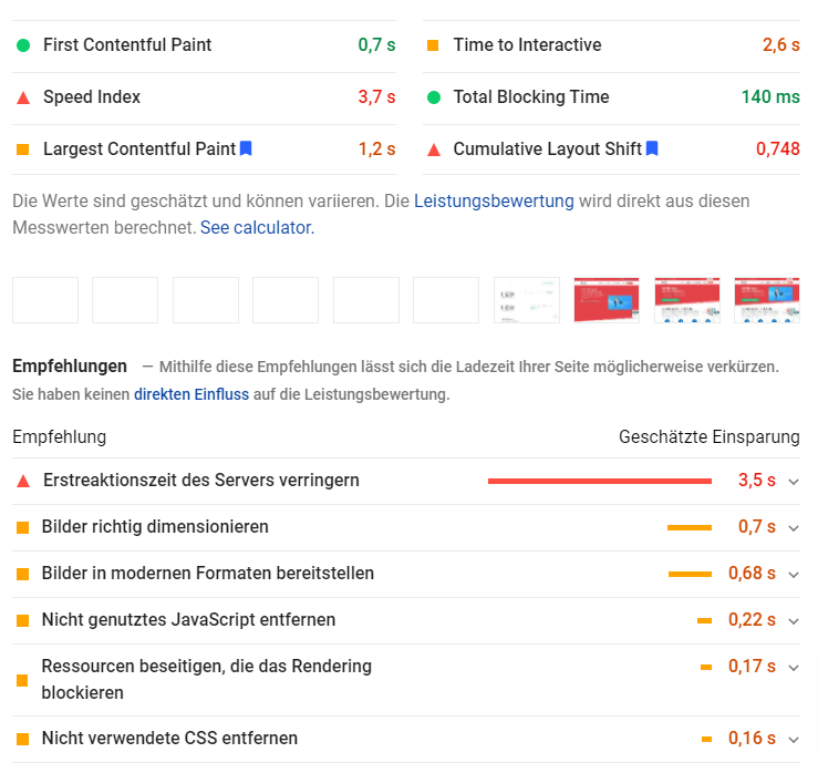 Page Speed bei OnPage Optimierung